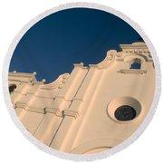 Iglesia San Andres Apostol - Apaneca 8 Round Beach Towel