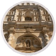 Iglesia San Francisco - Antigua Guatemala Vii Round Beach Towel