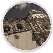 Iglesia San Francisco - Antigua Guatemala Xii Round Beach Towel