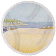 Ile La Comtesse, Pontrieux Round Beach Towel