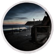 Freddie Gilfroy - Scarborough North Bay Round Beach Towel