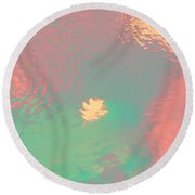I'll Be There For You Round Beach Towel