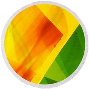 Illuminations 6 Round Beach Towel
