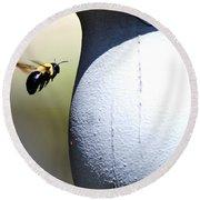 Ima Bee Round Beach Towel