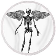 Immortality Round Beach Towel