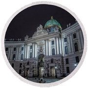 Imperial Palace Round Beach Towel