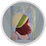In A Breeze Round Beach Towel