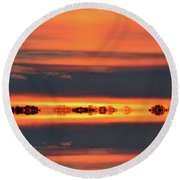 In Color Two Round Beach Towel