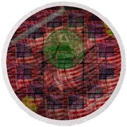 In God We Trust All Others Pay Cash Round Beach Towel