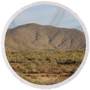 In Natural Form Round Beach Towel