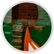 In Reflection Round Beach Towel