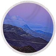In Search Of Atlantis-2 Round Beach Towel