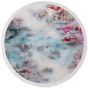 In Search Of The Aliana Round Beach Towel