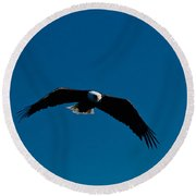 In The Glide Path Round Beach Towel