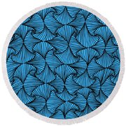 In The Moment Round Beach Towel