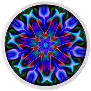 In The Spirit Of Things- Round Beach Towel