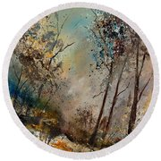 In The Wood 451180 Round Beach Towel