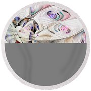 Inconceivable Round Beach Towel