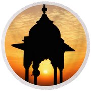 India Round Beach Towel
