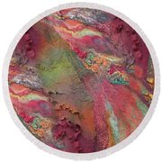Indian Spices Round Beach Towel