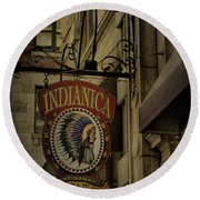 Indianica Montreal Round Beach Towel