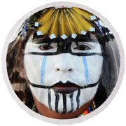 Indigenous People Canada 3 Round Beach Towel
