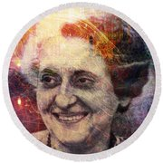Indira Round Beach Towel