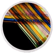 Industrial Art Round Beach Towel by Jerry McElroy