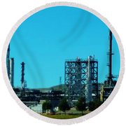 Industrial Firm Round Beach Towel