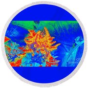 Infared Round Beach Towel