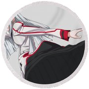 Infinite Stratos Round Beach Towel