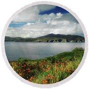 Inishowen Peninsula, Co Donegal Round Beach Towel