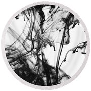 Ink IIi Round Beach Towel
