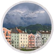 Innsbruck Round Beach Towel