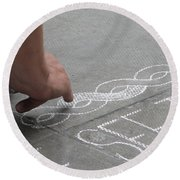 Integrity Round Beach Towel