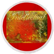 Intellectual Property Round Beach Towel