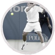 Intensity - Taylor Dent Round Beach Towel