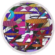 Intergalatic Round Beach Towel