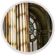 Interior Architecture Versailles Chateau France  Round Beach Towel