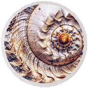 Into The Spiral Round Beach Towel