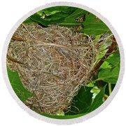 Intricate Nest Round Beach Towel