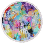Intuitive 2 Round Beach Towel