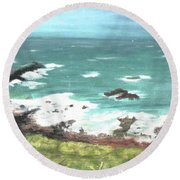 Ireland Round Beach Towel