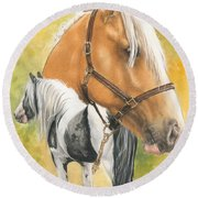 Irish Cob Round Beach Towel