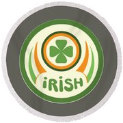 Irish Round Beach Towel