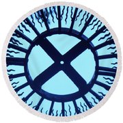 Iron Metal Frame Round Beach Towel