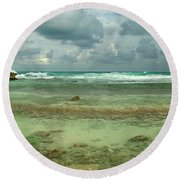 Isla De Mujeras North Shore Round Beach Towel