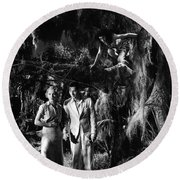 Island Of Lost Souls 1932 Leila Hyams Richard Arlen Kathleen Bur Round Beach Towel