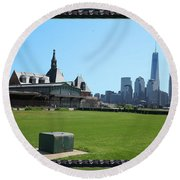Island Park Elise Museaum Of American Immigration Journey Trip To Newyork Travel Zone America Photog Round Beach Towel