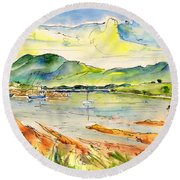 Isle Of Skye 01 Round Beach Towel